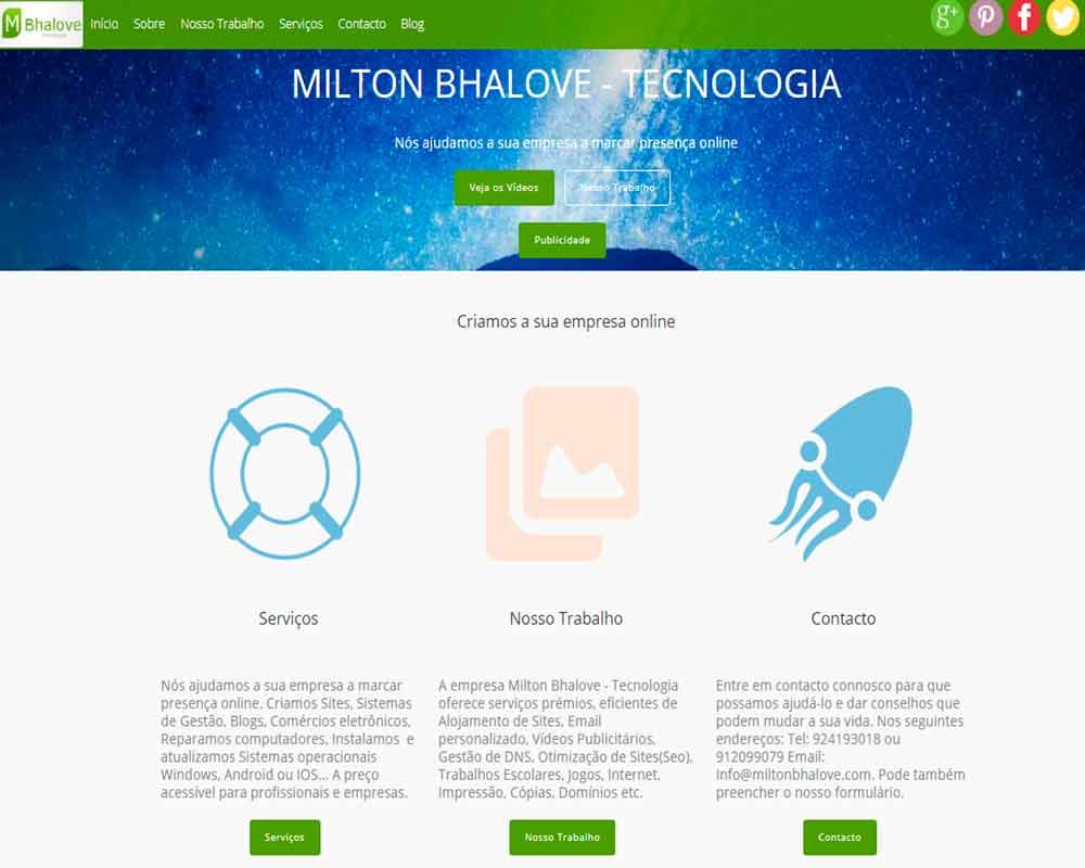 site milton bhalove